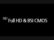 2.  Full HD & BSI CMOS