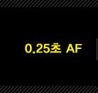 0.25초 AF