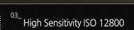 3.High Sensitivity ISO 12800