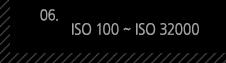 6. ISO 100 ~ ISO 32000