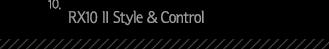10.RX10 II Style _ Control
