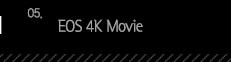 5.EOS 4K Movie