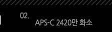 2. APS-C 2420만 화소