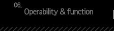 6.Operability , function