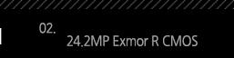 2. 24.2MP Exmor R CMOS