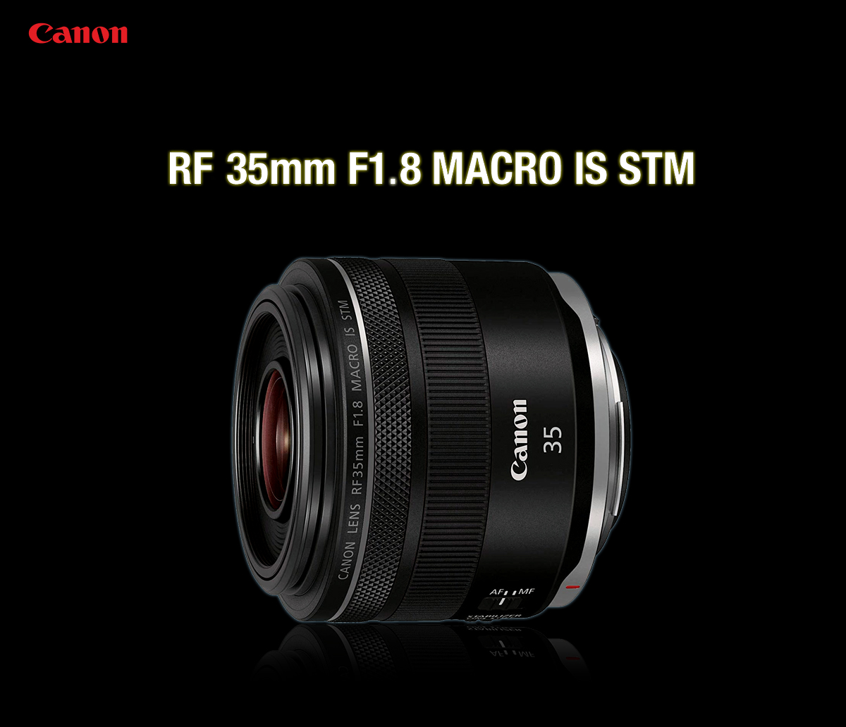 Canon RF35mm F1.8 Macro IS STM