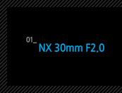 1.NX 30mm F2.0